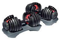 Barres, poids, haltères FITNESS DOCTOR Paire Haltère réglable 2,5 à 24 kg
