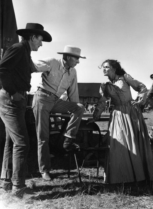 "john wayne, howard hawks, joanne dru - ""red river"" (1947)"