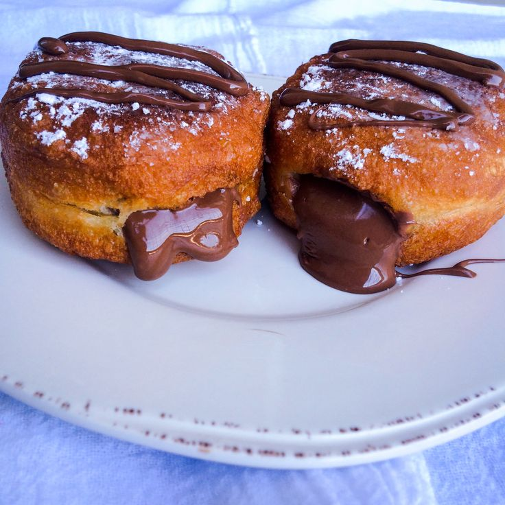 5 Minute Homemade Nutella 'Donuts'