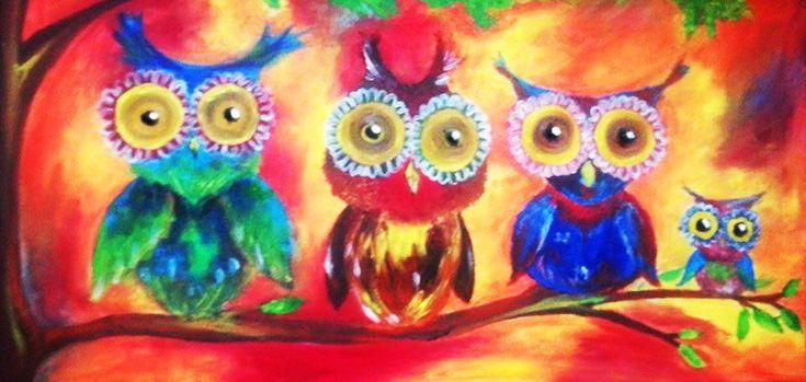 Owls by martystka