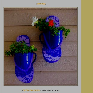 Flip Flop Flower Pot Ideas Www Picturesso Com