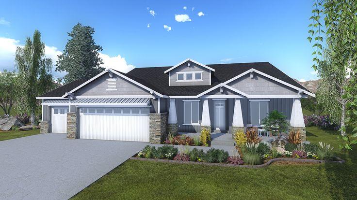 25 best ideas about rambler house on pinterest rambler for Craftsman house plans utah