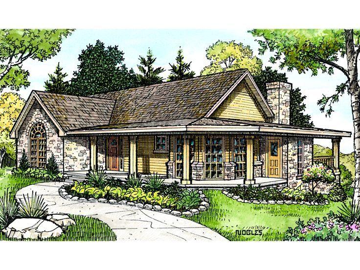 marvelous unique farmhouse plans #8: Plan 008H-0020 - Find Unique House Plans, Home Plans and Floor Plans at