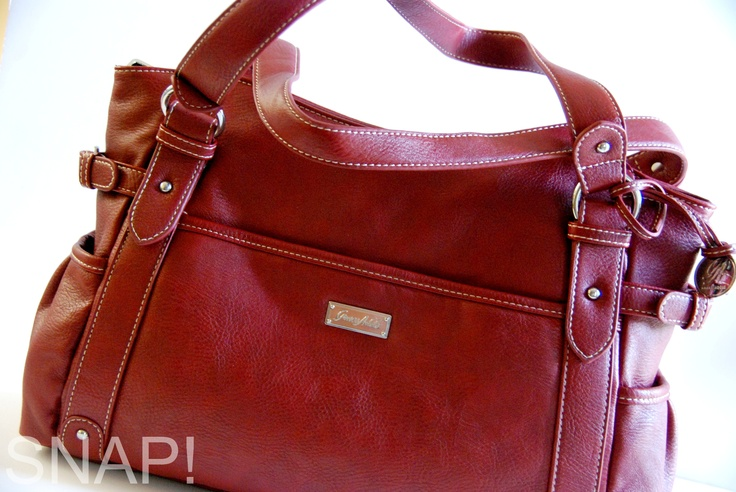 Grace Adele Mary bag. Smart interior stores everything.