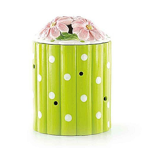 DEAL of the DAY!!! Just $14.98 normally 39!!!! This flower fragrance warmer is perfect for a child's night light, a young adults dorm room in college, a beautiful wedding present, or even a beautiful accent in a nursery!!!! At this price I'd stock up and use them as great Christmas presents!!! Love it!