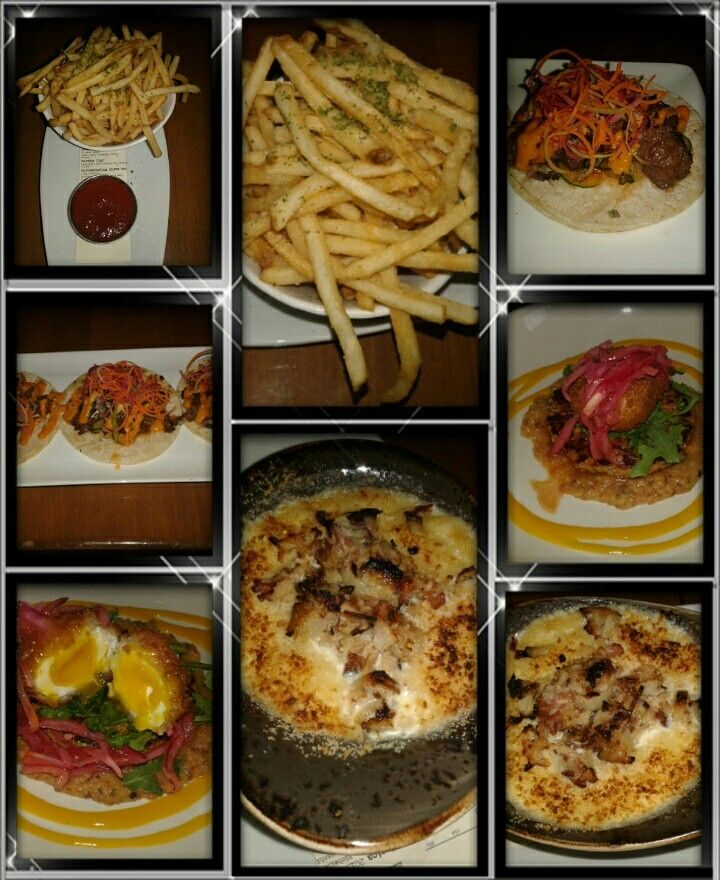 Chapter One: The Modern Local,  Santa Ana,  CA  Duck Fat Fries,  Korean Street Tacos,  Scotch Egg,  Mac & Cheese