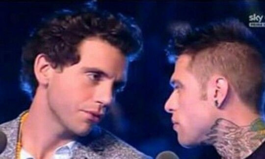 Mika and Fedez Lovely