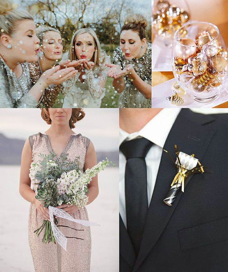 New Years Eve Wedding Inspiration