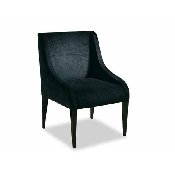 Dom Edizioni Dinner Chair Duke fabric Dinner chair with not removable cover