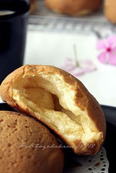 HESTI'S KITCHEN : yummy for your tummy: Coffee Bun, Roti Sobek Pizza dan Roti Keju