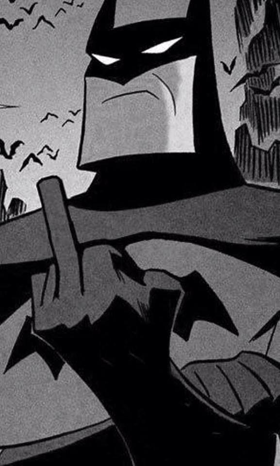 #Batman #fuck you !