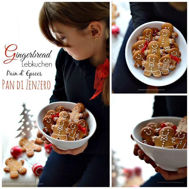 PANEDOLCEALCIOCCOLATO: Gingerbread o Pan di Zenzero, Pan d' Epices o Lebkuchen…sempre dello stesso uomo stiamo parlando