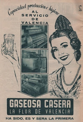 """Gaseosa casera: """"La flor de Valencia"""" ; no es lo mismo que: La Casera gaseosa"""