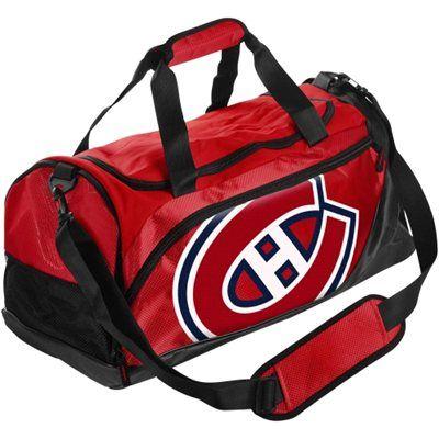 Montreal Canadiens Small Locker Room Duffle Bag - Red #myNHLWishListSweeps