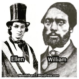 william and ellen craft The craft's flight to freedom  ellen smith craft was born in clinton, georgia in 1826 her father, colonel james smith, was white and was the owner of her mother, maria.
