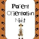 This activity pack includes the essentials for a parent orientation night.  Items included are: a PTA signup sheet, a transportation sheet, a volun...