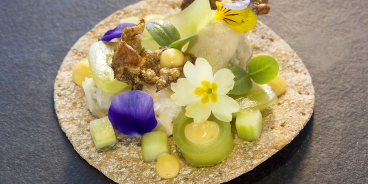 A visually stunning crab canapé recipe by Phil Fanning. With several different textures and flavours complementing one another within the one mouthful, it would go a long way to ensuring a dinner party was truly memorable
