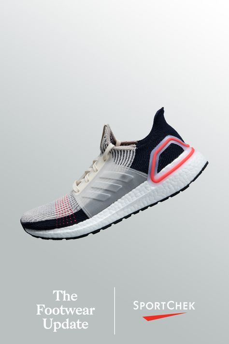 new concept 4a555 fe87e adidas Men s Ultraboost 19 Running Shoes - Brown White Shock Red   sports    Footwear, Shoe boots, Adidas sneakers
