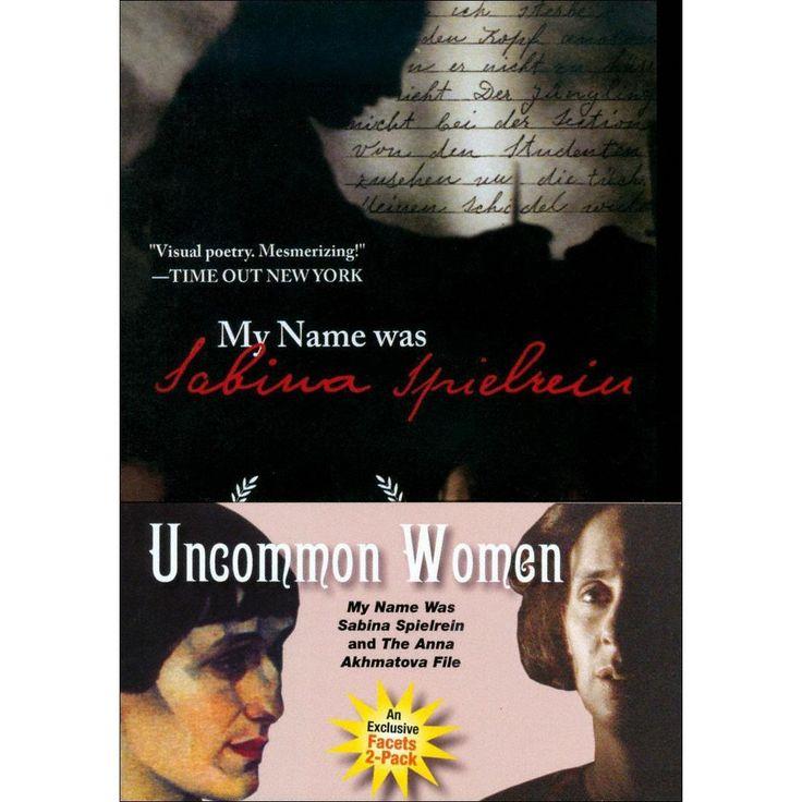 Uncommon Women: My Name Was Sabina Spielrein/The Anna Akhmatova File (2 Discs) (dvd_video)