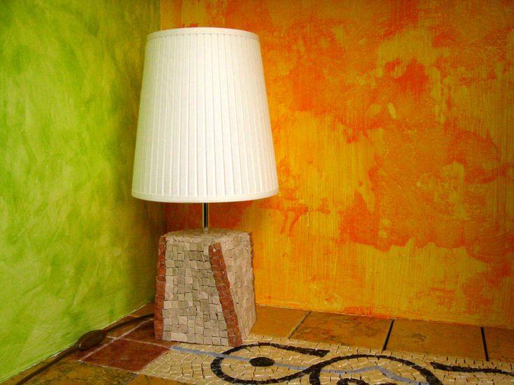 Mosaico Artigiano – Laboratorio di artigianato artistico   Lume mosaico