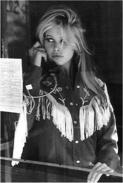 Merels favorite beauty merelzoet.com : cowgirl Claudia Schiffer