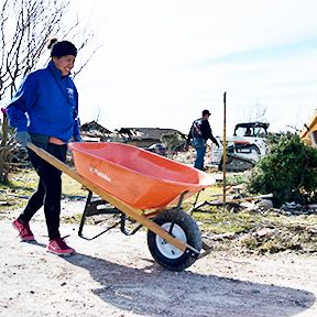 Garland is now in the long-term recovery process of its tornado relief efforts. Garland Building Inspection will continue to operate from 9 a.m. to 4 p.m. Monday-Friday from the Mobile Permitting Site. The Recovery Assistance Center closed on Jan. 23. Survivors seeking assistance with recovery may contact St. Vincent de Paul and Catholic Charities caseworkers by calling 469-607-0909 or through 2-1-1. Find additional updates at GarlandTx.gov.