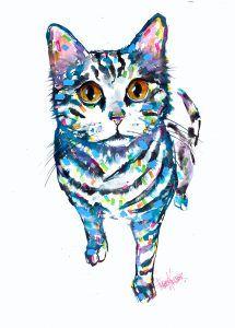 Kitty Tracey Keller Pet Portrait