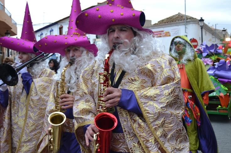 El Gran Desfile de Carnaval destacó por su colorido y originalidad.