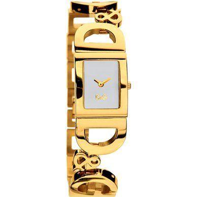 Dolce & Gabbana D & G Golden Time vrouwen kijken 18 kt goud vergulde nieuw geen RESERVE  D & G Dolce & Gabbana is ironie. Het is een modemerk dat haar inspiratie uit de straat muziek en hedendaagse om het even wat krijgt. Het transformeert deze concepten in een persoonlijke stijl van leven die grensoverschrijdend en breekt vooropgezette belemmeringen. D & G mode is een bevestiging van de vrijheid. Het is de meest oprechte en gevestigde uitdrukking van contemporariness en metropolitan levende…