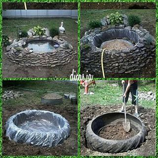 reciclagem de pneus jardim - Pesquisa Google