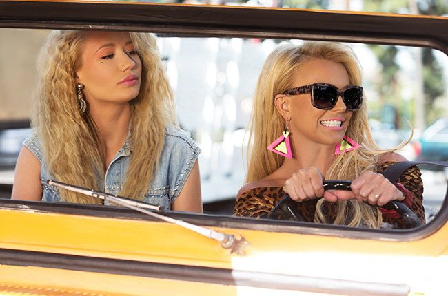 Yet Another Old Cliché: Britney & Iggy go funny on 'Pretty Girls'