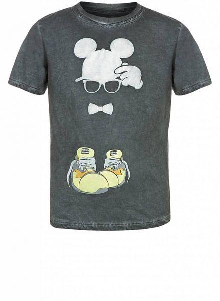 Relaunch Relaunch shirt Mickey met gele sneakers