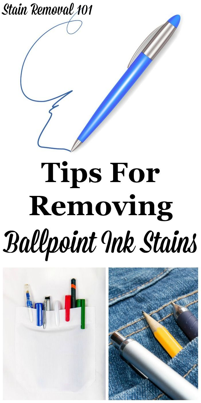 Stain Removal Ballpoint Ink Tips To Remove Pen Marks Ink Stain