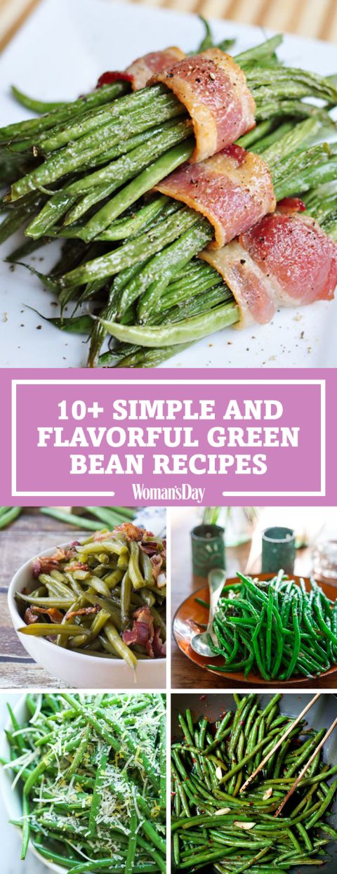 Your go-to green bean recipe doesn't stand a chance to these savory and flavorful ways to prepare green beans. Transform this everyday side dish into a restaurant-tasting addition to your weeknight dinners with the family. Add almond-garlic oil to your green beans to amp up the flavor while still keeping it healthy.
