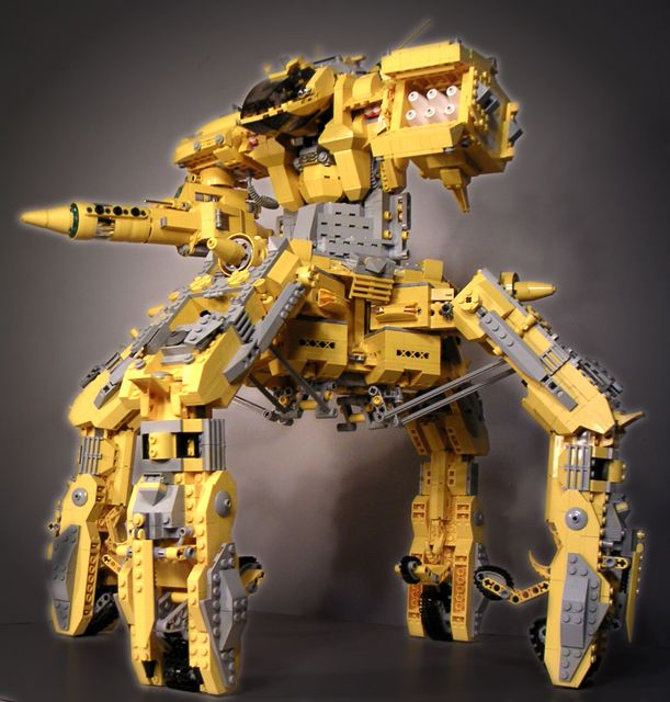 how to make a good missle build your own mech