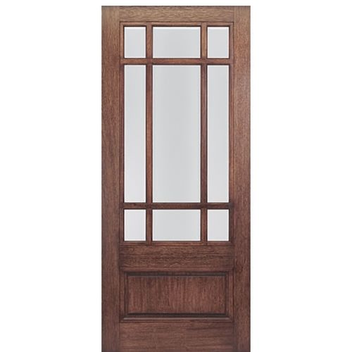 Mai doors htc700 1 front doors on sale mahogany square top for Mahogany exterior door