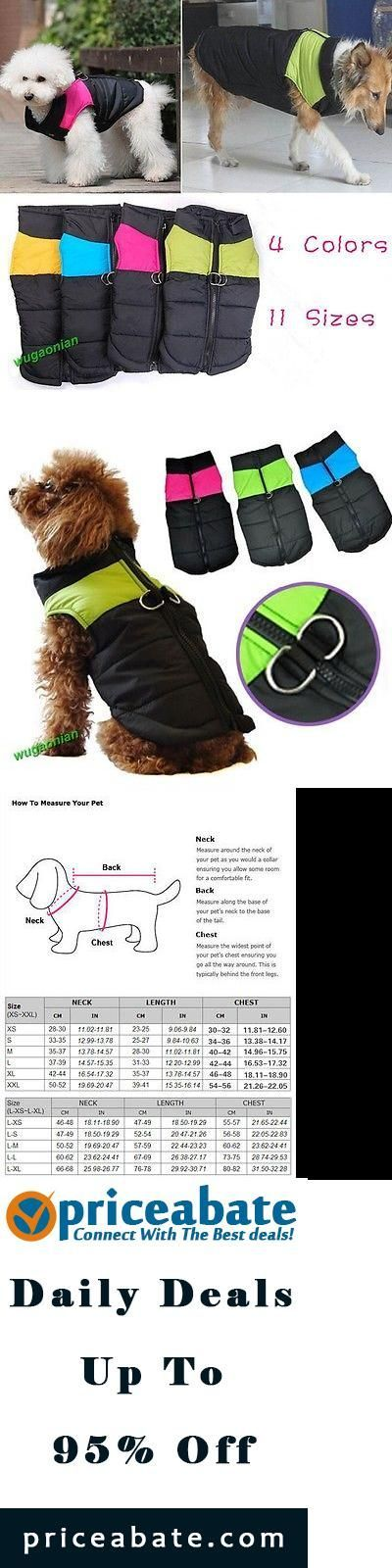 #priceabatedeals Comfortable Small Medium Large Big Pet Dog Clothes Winter Warm Vest Jacket Coat  - Buy This Item Now For Only: $13.77