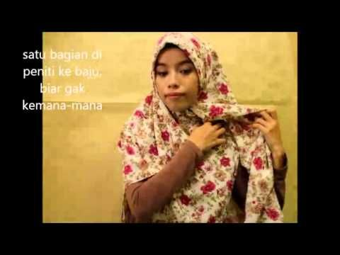 Simple, Syar'i and stylish Hijab Tutorial #4
