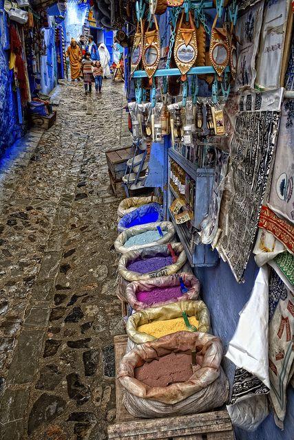 Chefchaouen, Morocco.  Primavera Árabe by Zu Sanchez