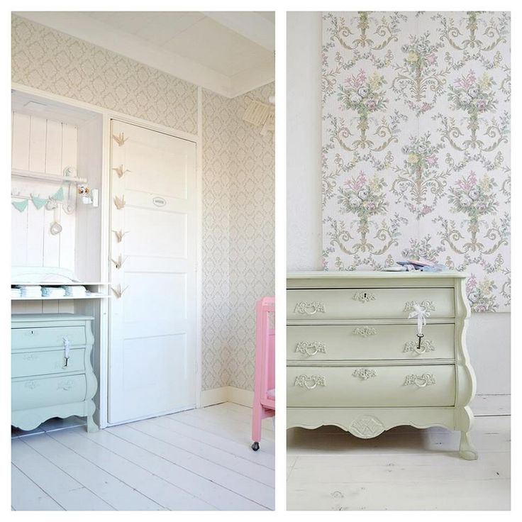 FRIVOLE INSTAGRAM -new blogpost- old dresser, Painting the Past 'Green Tea'