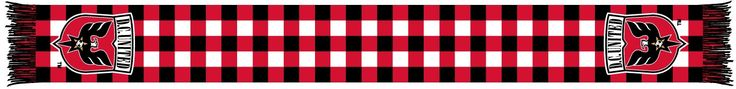 DC UNITED SCARF- Checkered