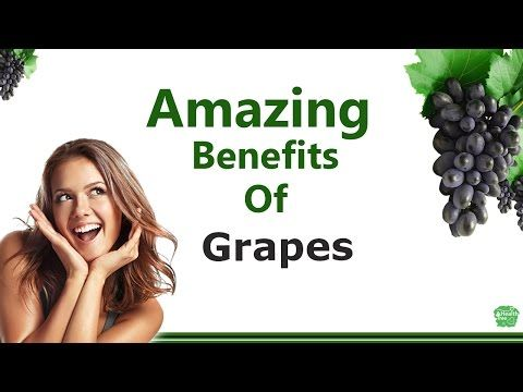 Amazing benefits of Grapes - YouTube