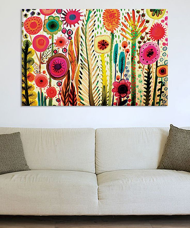 Love this Printemps Gicleé Gallery-Wrapped Canvas by iCanvas on #zulily! #zulilyfinds