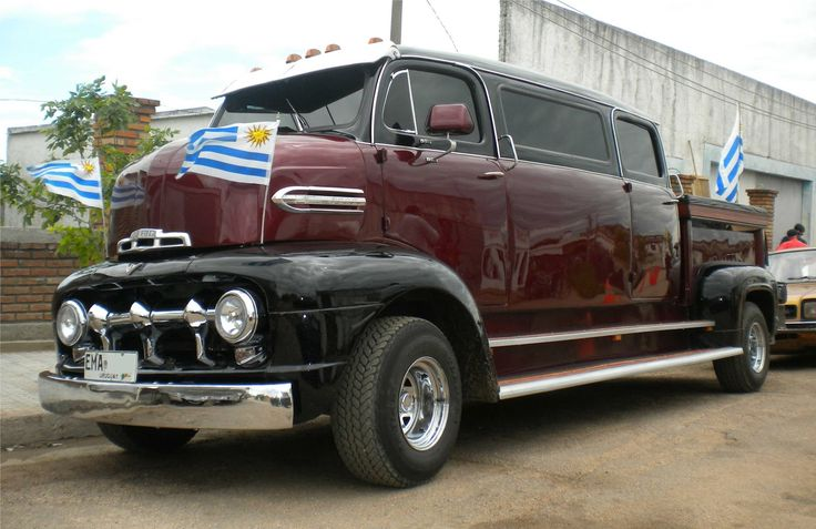 1955 ford coe for sale ford coe limousine 1951 trucking on pinterest uruguay flag seals. Black Bedroom Furniture Sets. Home Design Ideas