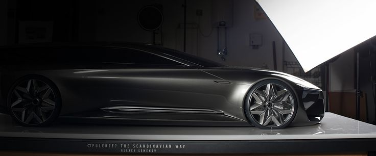 "BA-degree: Volvo ""Opulence? The Scandinavian Way"" on Behance"