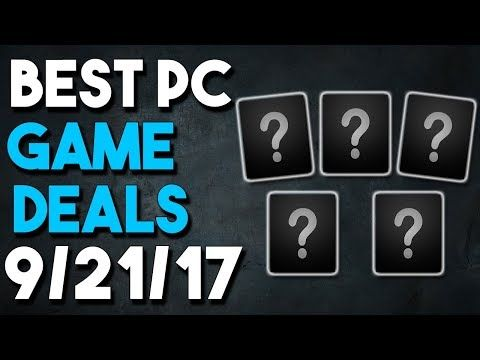 Top 5 PC Game Deals of the Week 9/21/17 - GREAT Wolfenstein Pack DOOM and More! CultOfMush