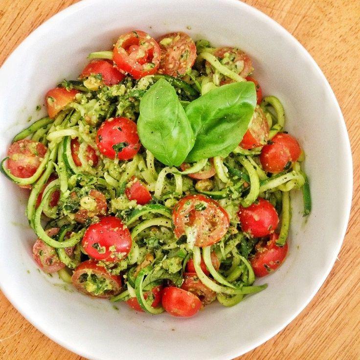 Capellini With Spicy Zucchini-Tomato Sauce | Food Recipes