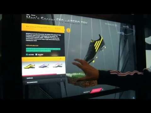 Digital Retail Shopping Adidas CES 2012