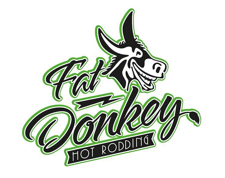 Logo Design voor Fat Donkey Hot Rodding