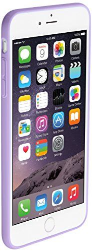iPhone #6s #Plus #case #iPhone #6 #Plus #case #Nupro #Lightweight #Protective #iPhone 6s Plus case, iPhone 6 Plus case, Nupro Lightweight Protective Bumper Case Cover for Apple iPhone 6s Plus (5.5″ screen) – Clear/Purple